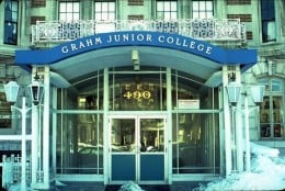 Grahm Jr College in Boston, circa 1964.  Photo from the Alumni Association Website