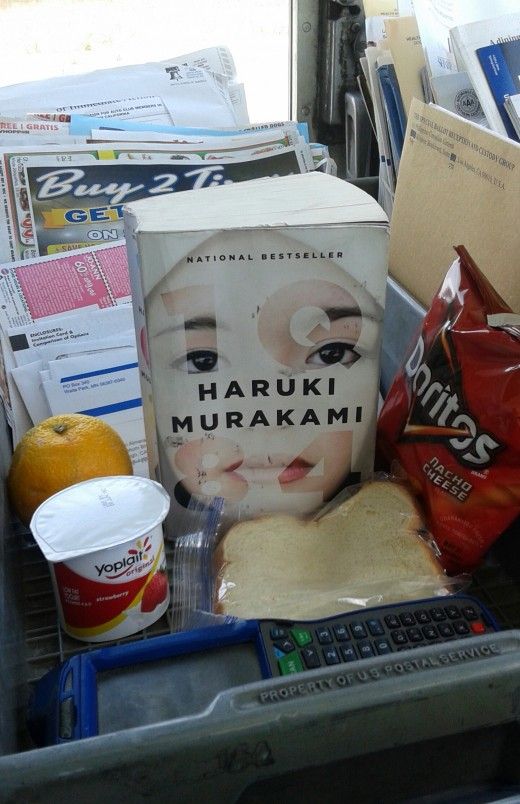 Join Mel for brown bagging beneath his favorite lunchtime lit tree as he discusses 1Q84, by Haruki Murakami.