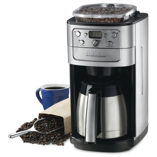 The Cuisinart Fully Automatic Burr Grind & Brew ThermalTM 12 Cup Coffeemaker is an outstanding machine that combines elegance with functionality.  The double-walled thermal carafe enables you to keep your drinks hot for longer periods.