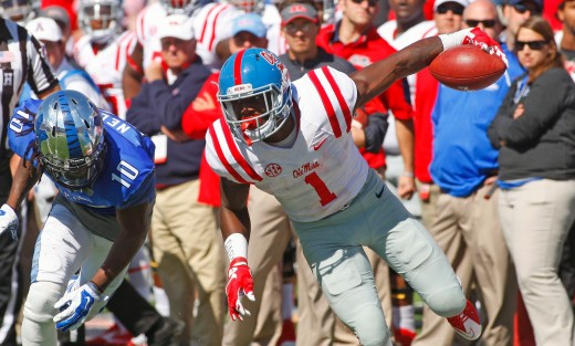 Laquon Treadwell hopes to be the first receiver selected in this year's draft.