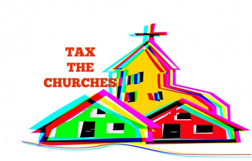 Many are calling for the United States to tax the churches.
