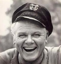 """Alan Hale, Jr. 1920 - 1990 was """" Big Jeff Pruitt"""" on  Andy Griffith Show  and the skipper on  Gilligan's Island"""