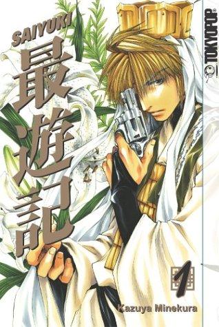 The Saiyuki Volume 1 manga features monk Genjo Sanzo