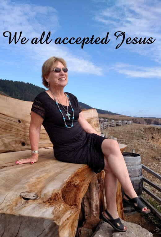"Publicity photo for ""We all accepted Jesus """