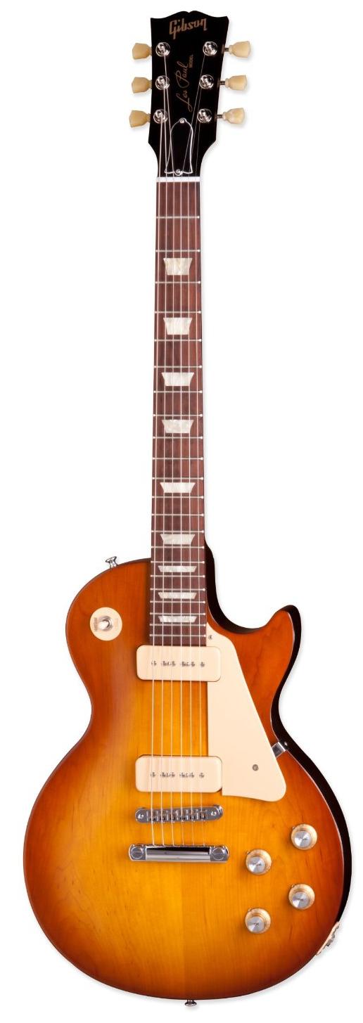Les Paul '60s Tribute T (Satin Honeyburst with Dark Back)