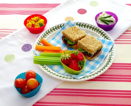 Eat a balanced diet in general to improve immune system and reduce chances of an infection.