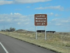 Ludlow Massacre - Roadsigns to Forgotten Heroes