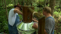 Mark and Digger, other moonshiners on Discovery Channel's hit series: Moonshiners