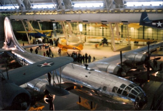 The Enola Gay at the Udvar-Hazy Center.
