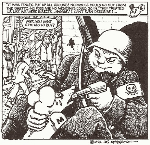"""Works like """"Mause"""" changed how we view comics and graphic novels as art, as it used the visual medium to create a truly profound story about surviving the Holocaust."""