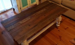 Coffee Table Farmhouse Makeover