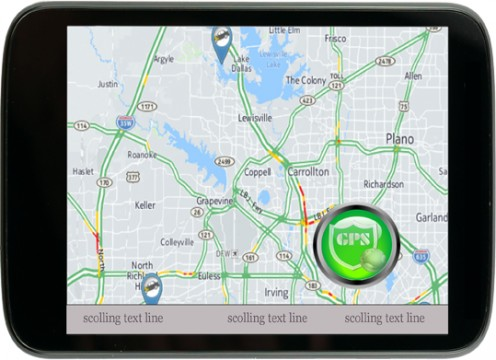 GPS is as any other except the riders that are on your own digital address system will appear on all GPS's and the ability to see the other riders and if an alert is sent would light that rider and location and the color of the alert sent.