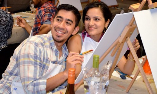 are date nights out important hubpages On painting classes for couples