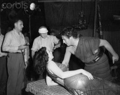 """Cecil B. Demille directed """"Samson and Delilah"""""""