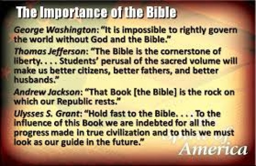 A great part of what is wrong in America can be traced to our country's refusal to follow the guidelines set forth by our Founding Fathers and the belief in God as our leader first and foremost.