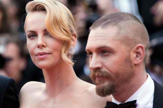 Theron and Hardy didn't get along while filiming Mad Mad: Fury Road, and that made their roles even better with the intensity.