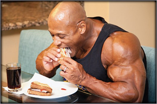 Eating right is one of the most important aspects of bodybuilding.