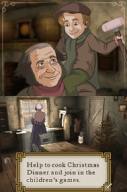 Screenshot from: Disney's A Christmas Carol NDS game