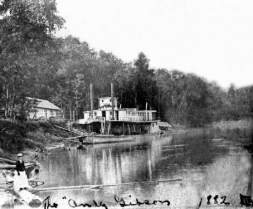 Andy Gibson Riverboat