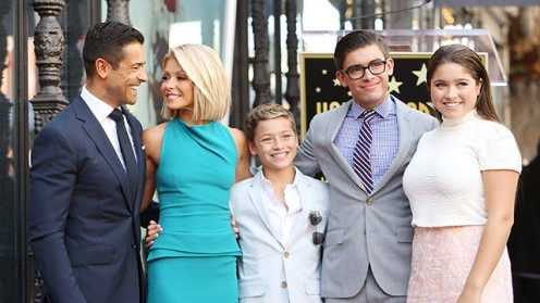 The Kelly Ripa family