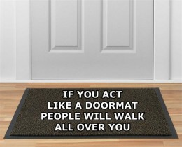 They're seen as easy marks as they can't, don't, & won't establish boundaries as to how far they would go for others.They WON'T acknowledge when enough is ENOUGH.  They're seen as doormats-here THEY come,let's see what we can ask them, they'll DO it!