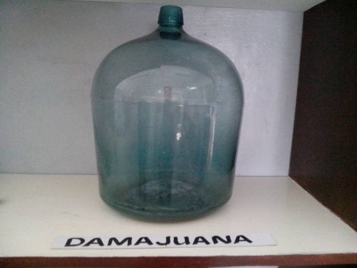 Dama Juana or Wine Vessel (Photo Source: Ireno Alcala)