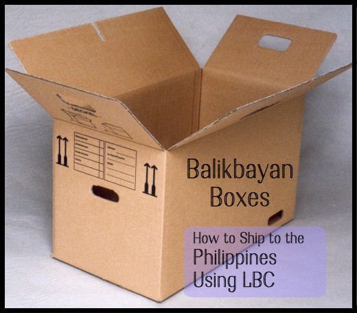 How to use LBC Shipping to send a Balikbayan box to the Philippines.