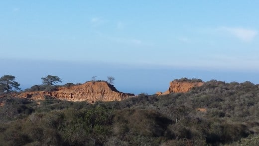 Broken Hill in Torrey Pines State Reserve
