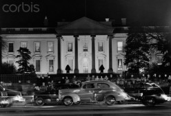 The White House after the attack on Pearl Harbor
