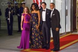 State Dinner at White House Jan. 16, 2016