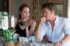 Jolie directs husband Brad Pitt in By the Sea (2015), a movie she also wrote and starred-in.