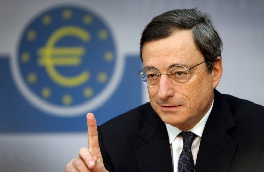 Mario Draghi, the god of the euro.