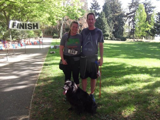 A 5K at the University of Washington 2016