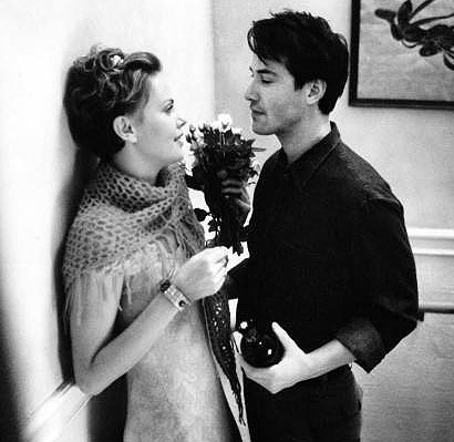 Keanu wooed Charlize in Sweet November (2001) and also, after the movie ended.