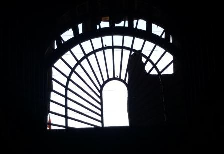 The huge window for lighting effect