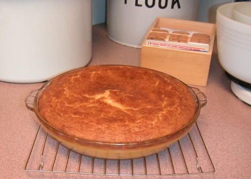 Butternut Squash Pie - No Crust Needed