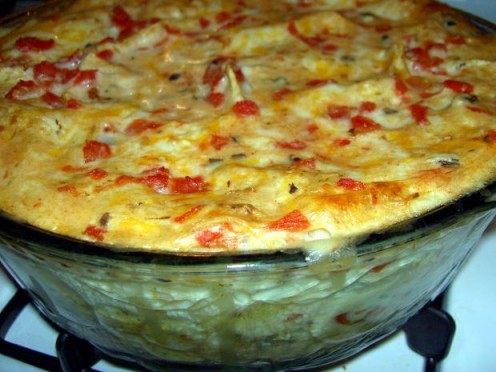 Mexican King Ranch Chicken