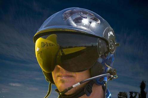 Helmut Samerski, crop dusting pilot