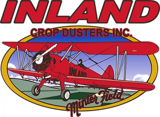 Crop dusting companies have a specially-designed logo all their own
