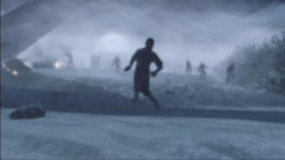 The opening scene from Call of Duty: Zombies.