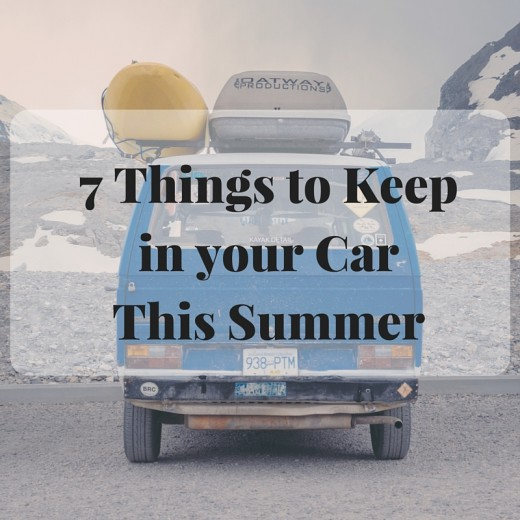 7 Things to Keep in Your Car this Summer