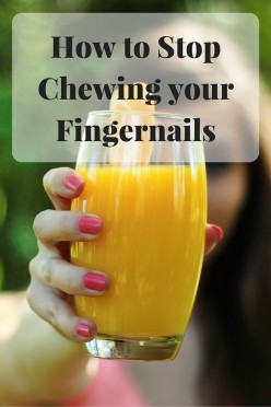 How to Stop Chewing Your Fingernails