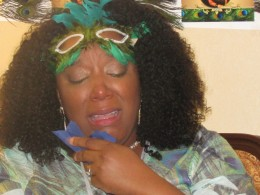 Chante, became emotional because of the tremendous love demonstrated over the weekend during her shower.