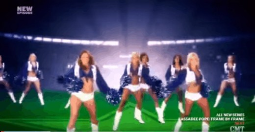 Dallas Cowboys Cheerleaders - Making the Team Reality Show