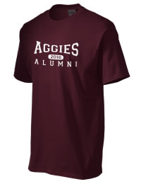 Our high school alumni association always sells shirts with our football mascot name on the front