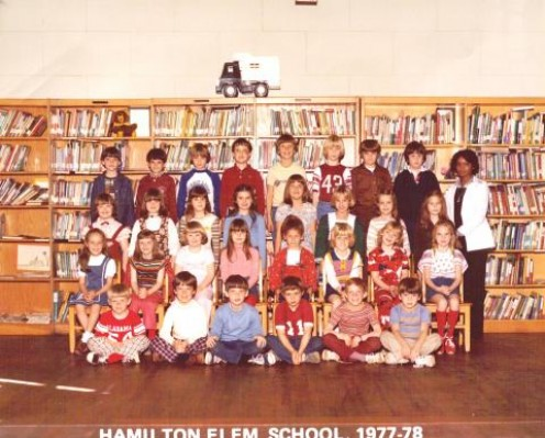 Hamilton, Alabama  Elementary School  1977 to 1978