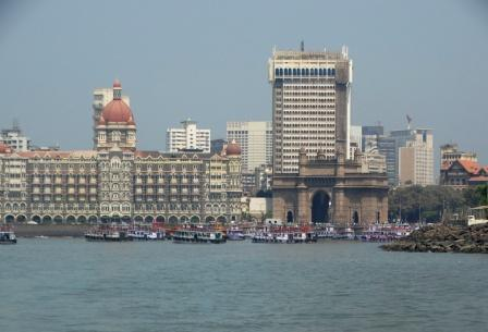 Mumbai from where the boats to Elephanta start