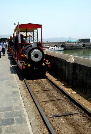 The Toy Train at Elephanta