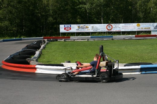 This go-kart track is well-known for being one of the best and busiest. The Club House Fun Center in Rochester.