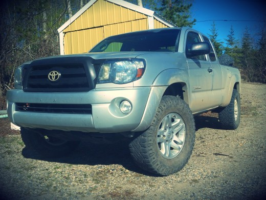 My 2009 Toyota Tacoma as it sits today, May 14 2016